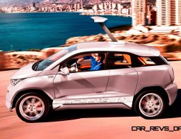 2015 RINSPEED Budii Bringing i3-Based EV Wackiness To Geneva
