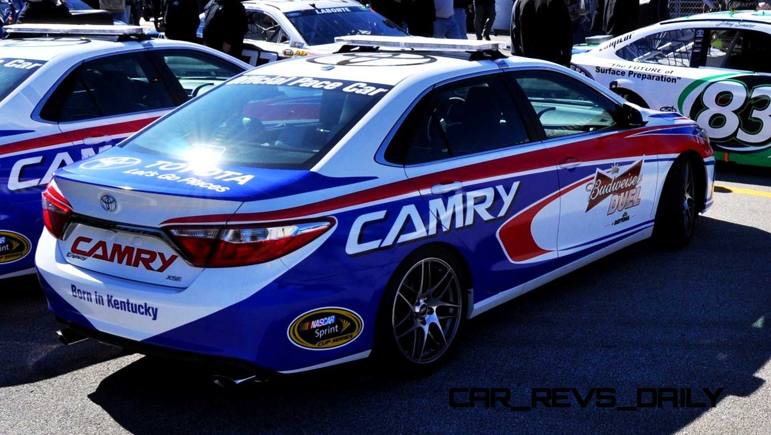 2015 Toyota Camry - DAYTONA 500 Official Pace Car 23
