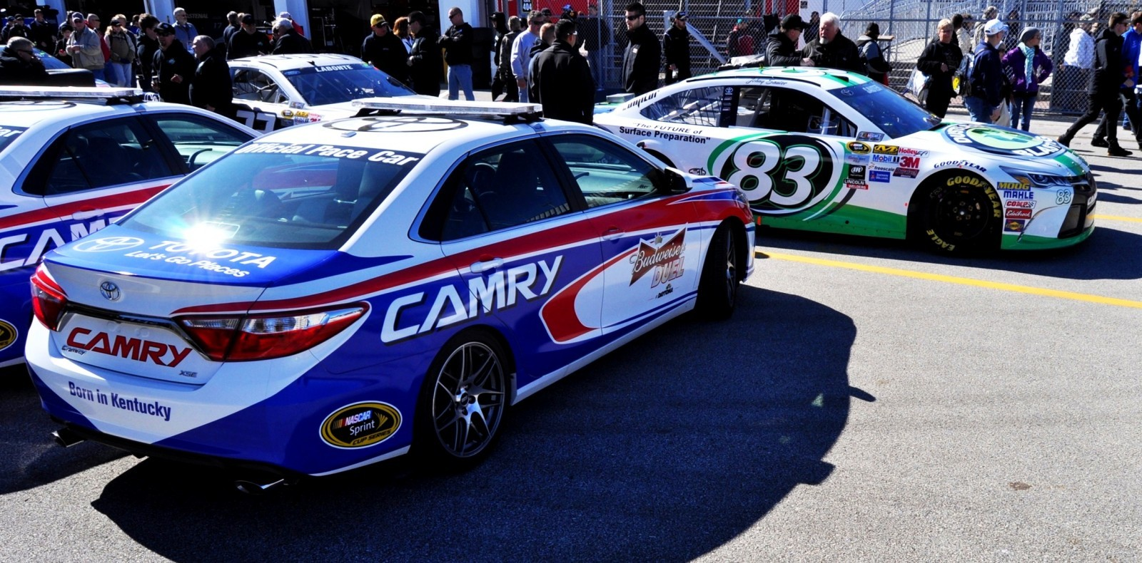 2015 Toyota Camry - DAYTONA 500 Official Pace Car 24