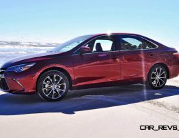 2015 Toyota Camry Retraces NASCAR Roots with a Drive on Daytona Beach