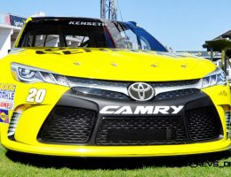 DAYTONA – Meeting the 199MPH 2015 Toyota Camry NASCAR of Matt Kenseth #20 Dollar General