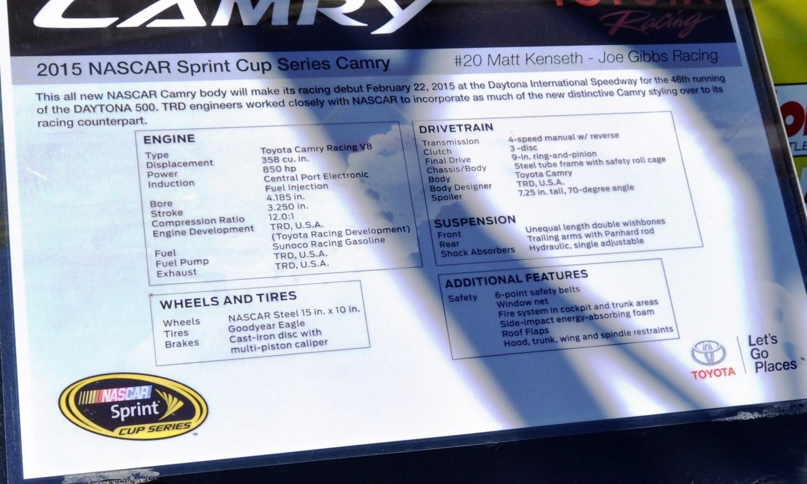 2015 Toyota Camry NASCAR Dollar General 30
