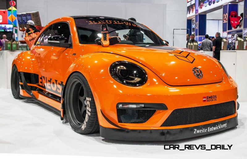 2015 Volkswagen Tanner Foust Racing ENEOS RWB Beetle 996