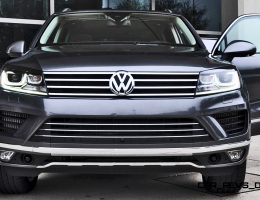 Road Test Review – 2015 Volkswagen Touareg TDI Feels Light, Quick and Lux
