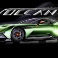 850HP 2016 Aston Martin VULCAN Is All-New Tactical Strike Flagship with 7.0L Racing V12