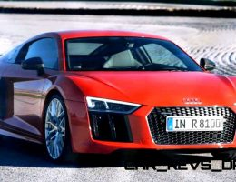 3.0s, 610HP 2016 Audi R8 V10 and R8 V10 Plus Are Official! HD Video + 30 Images