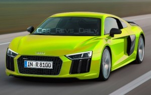 2016 Audi R8 V10 Plus - Digital Colorizer 10