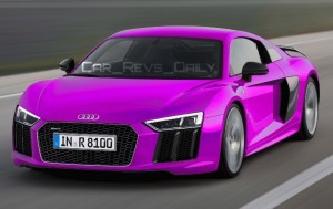 2016 Audi R8 V10 Plus - Digital Colorizer 23
