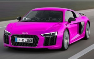 2016 Audi R8 V10 Plus - Digital Colorizer 24