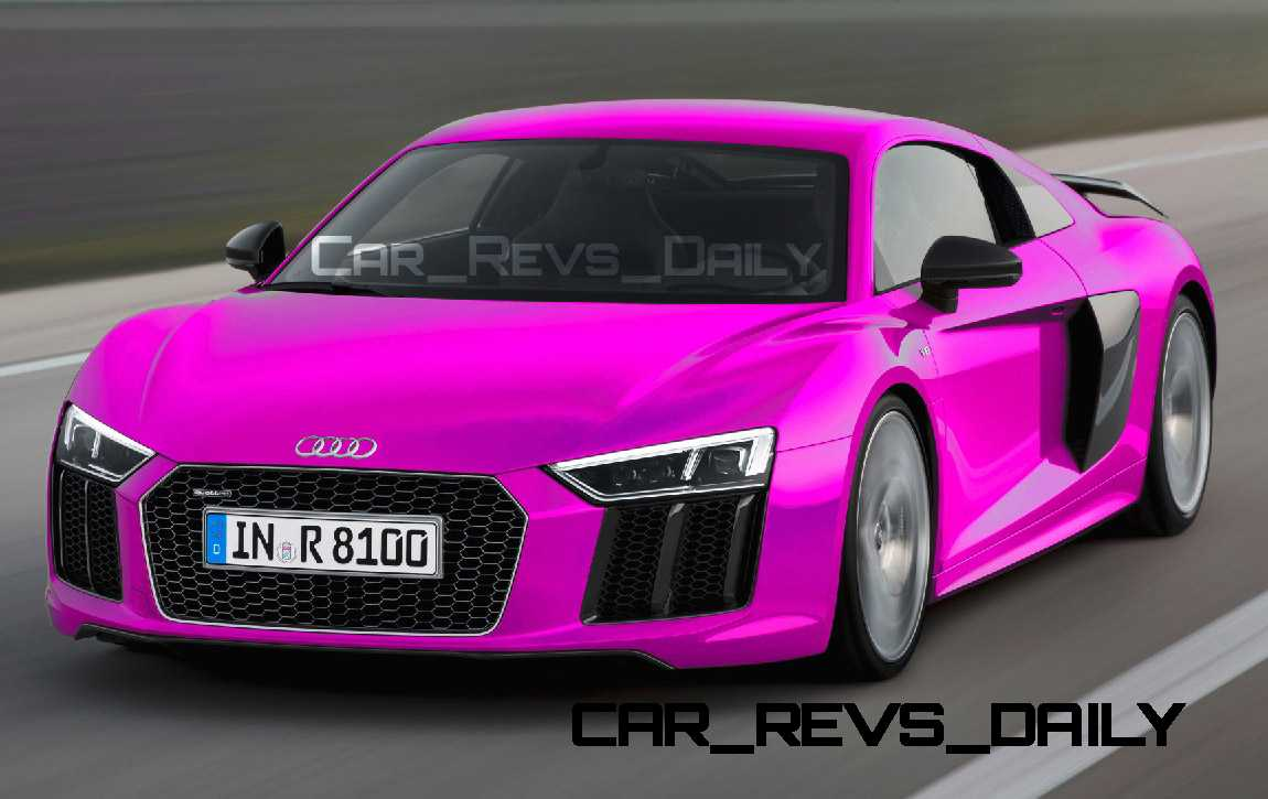 2016 Audi R8 - Digital Colorizer