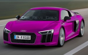 2016 Audi R8 V10 Plus - Digital Colorizer 37