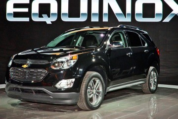 2016 Chevrolet Equinox Facelift Revealed in Chicago
