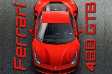 660HP, 212MPH 2016 Ferrari 488 GTB Goes Turbo With Wild New Intake Styles!