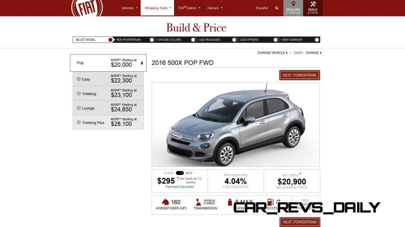 2016 Fiat 500X Pricing, Colors and Real-Life Photos 1