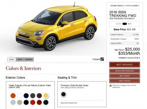2016 Fiat 500X Pricing, Colors and Real-Life Photos 12