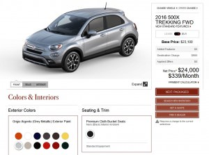2016 Fiat 500X Pricing, Colors and Real-Life Photos 13