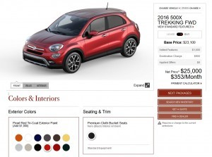 2016 Fiat 500X Pricing, Colors and Real-Life Photos 16