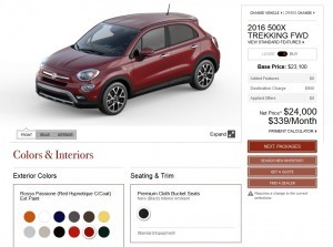 2016 Fiat 500X Pricing, Colors and Real-Life Photos 17