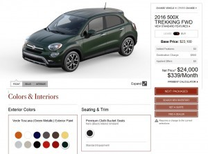2016 Fiat 500X Pricing, Colors and Real-Life Photos 18