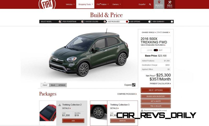 2016 Fiat 500X Pricing, Colors and Real-Life Photos 19