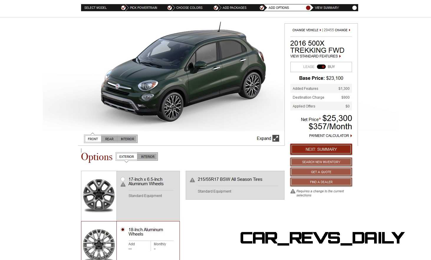2016 Fiat 500X Pricing, Colors and Real-Life Photos 20