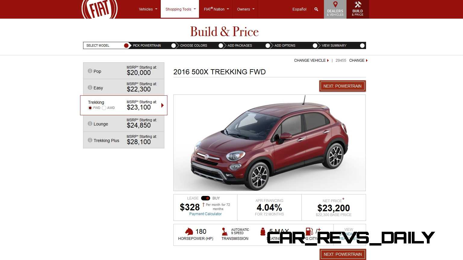 2016 Fiat 500X Pricing, Colors and Real-Life Photos 3