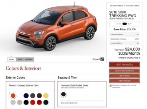 2016 Fiat 500X Pricing, Colors and Real-Life Photos 7