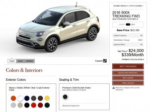 2016 Fiat 500X Pricing, Colors and Real-Life Photos 8