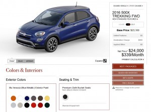 2016 Fiat 500X Pricing, Colors and Real-Life Photos 9