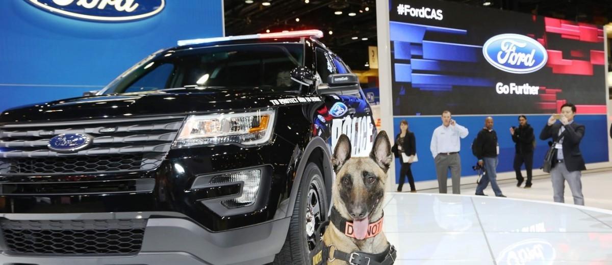 2016 Ford Explorer Police Interceptor 14