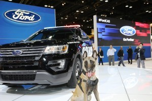 2016 Ford Explorer Police Interceptor 14
