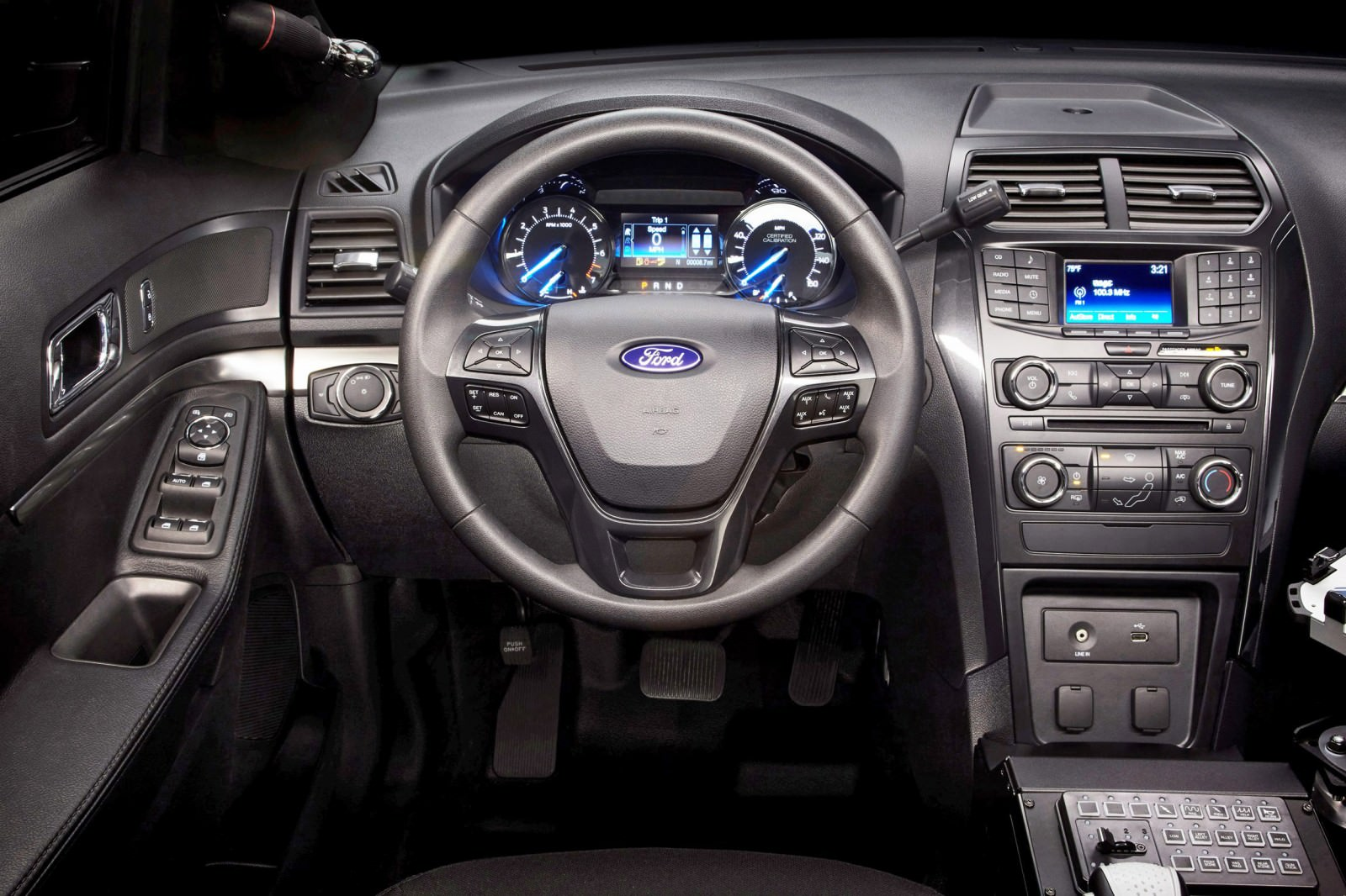 Ford Explorer Police Interceptor X