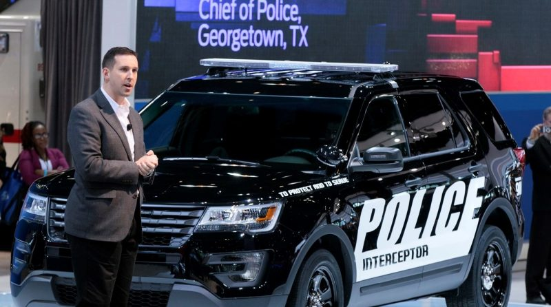 2016 Ford Explorer Police Interceptor 4