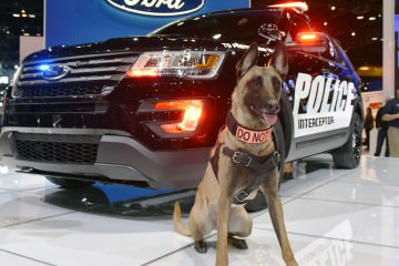 2016 Ford Explorer Police Interceptor Is Updated for Home-Town Chicago Auto Show
