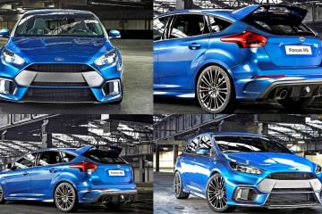 ~340HP 2016 Ford Focus RS Runs AWD and DTV! Official Debut + Drift Video