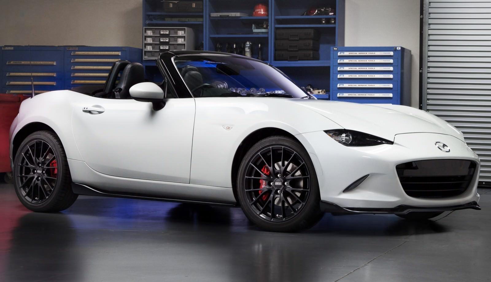 2016 Mazda MX 5 Aero Accessories