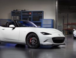 2016 Mazda MX-5 Aero Accessories Concept Packs Fresh Splitters, Wheels, and Sills for Chicago