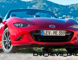 2016 Mazda MX-5 Roadster Sexy, Cool and Mean in 52 New Photos