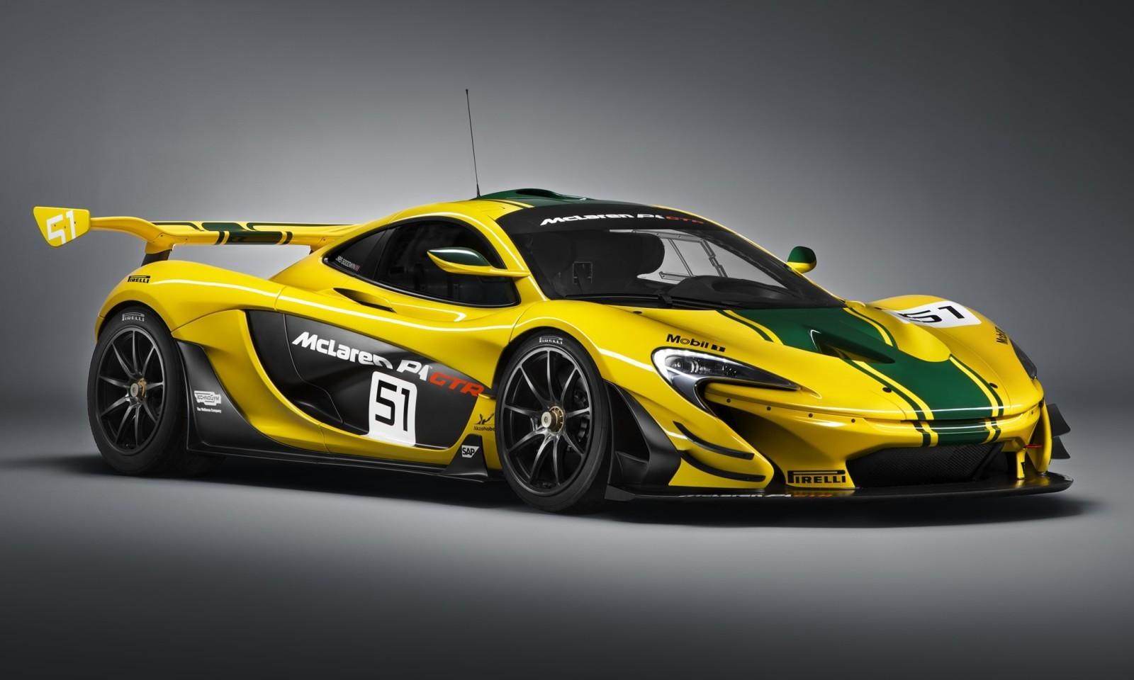 2016 McLaren P1 GTR Yellow 1
