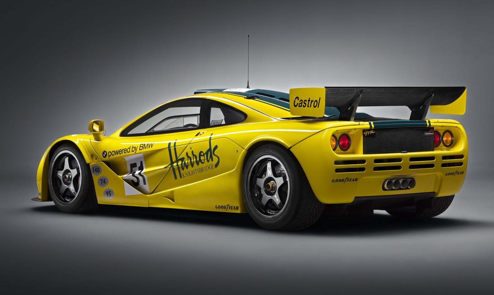 2016 McLaren P1 GTR Yellow 10