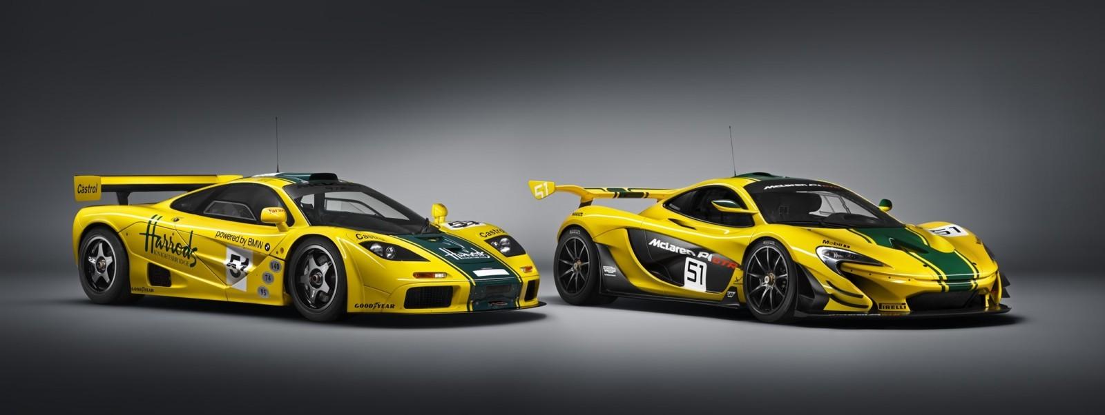 2016 McLaren P1 GTR Yellow 11