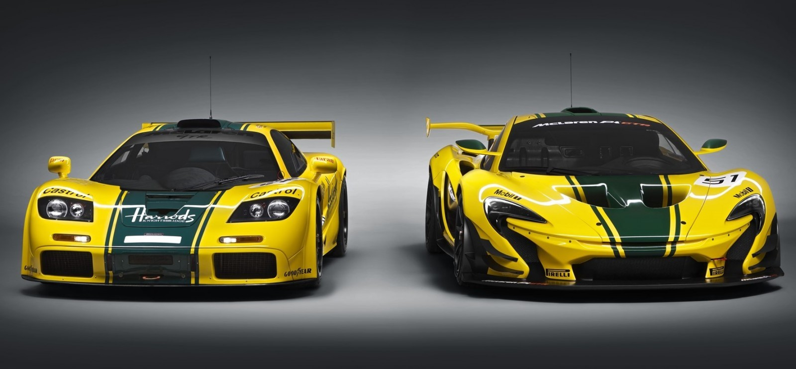 2016 McLaren P1 GTR Yellow 12