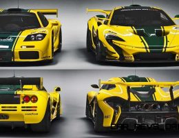 986HP, ~2.2s 2016 McLaren P1 GTR Revealed Before Geneva and Catalunya Track Driver Program