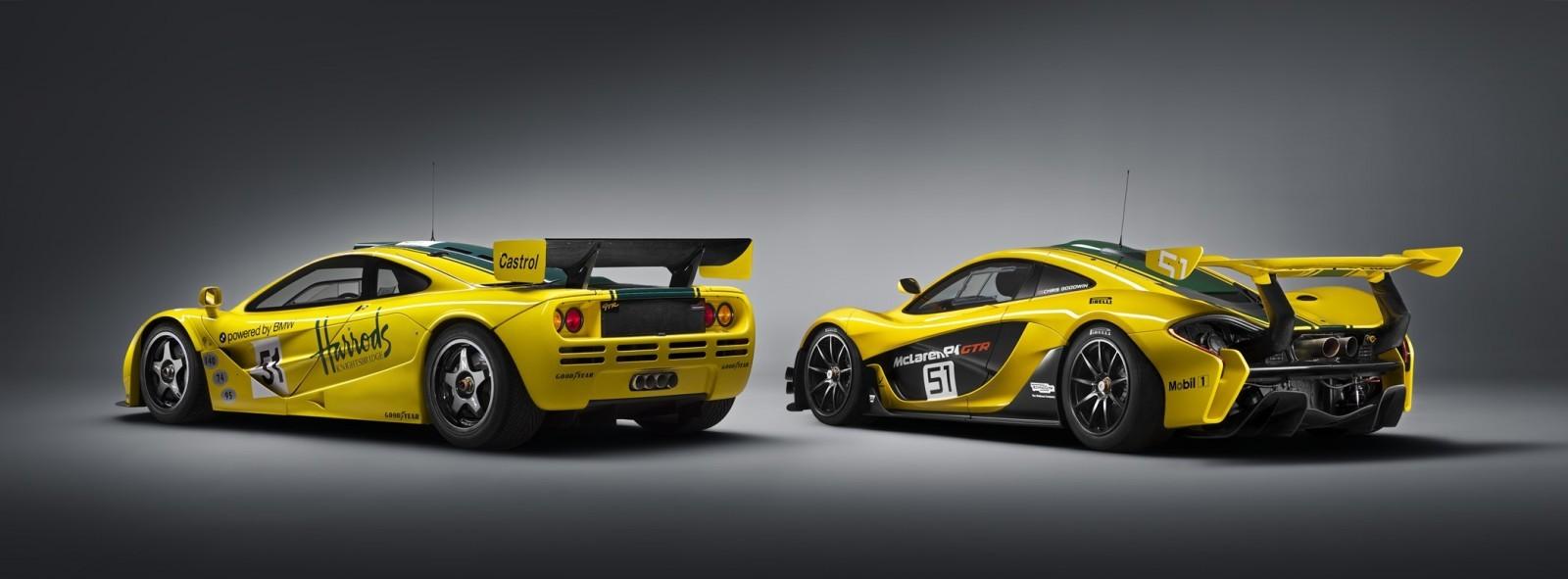 2016 McLaren P1 GTR Yellow 14
