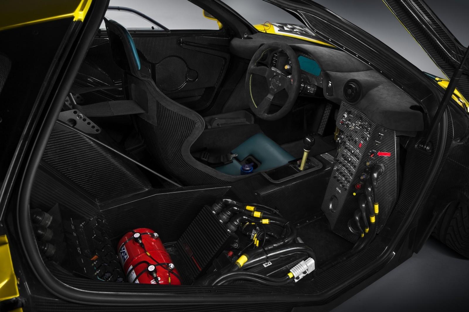 2016 McLaren P1 GTR Yellow 16