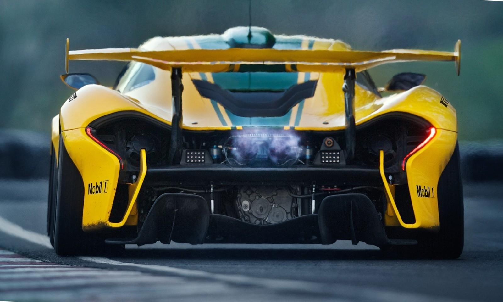 2016 McLaren P1 GTR Yellow 18