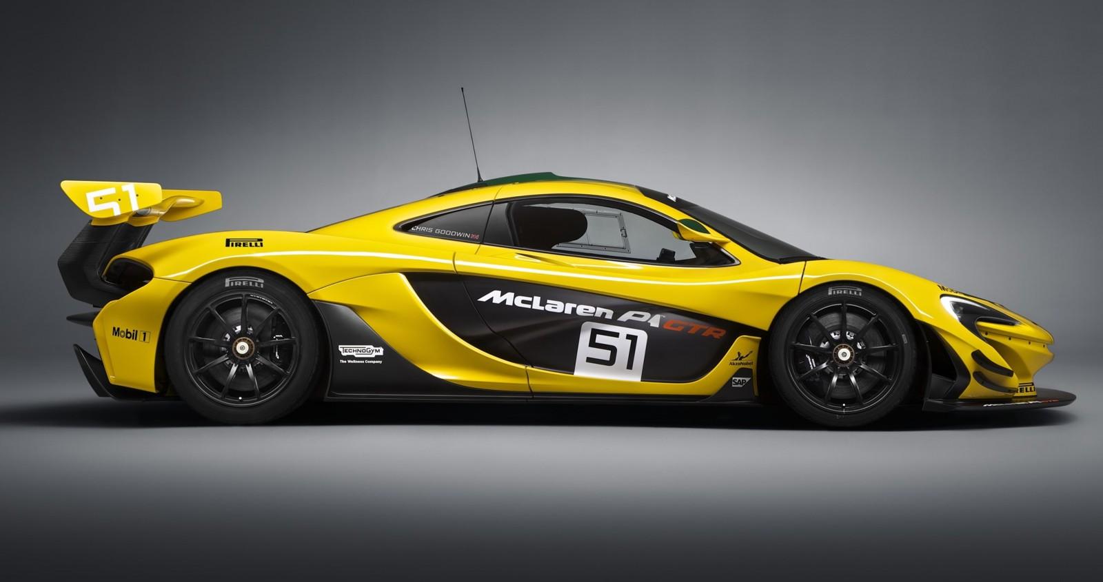 2016 McLaren P1 GTR Yellow 3