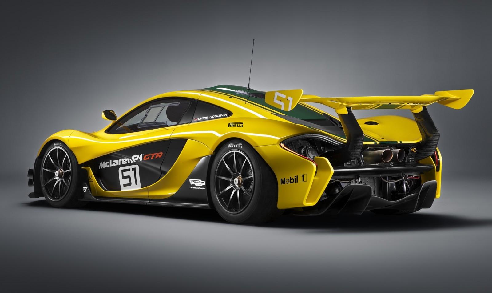 2016 Mclaren P1 Gtr Yellow