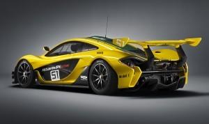 2016 McLaren P1 GTR Yellow 5
