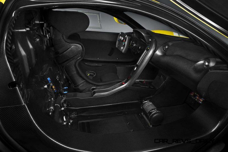 2016 McLaren P1 GTR Yellow 7